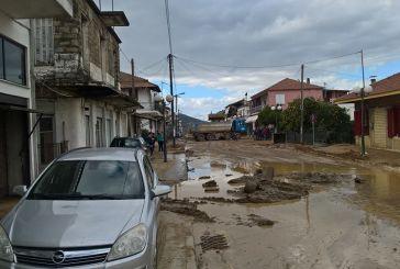 1115 κατοικίες και 86 επαγγελματικοί χώροι υπέστησαν ζημιές από την κακοκαιρία της 2ας Δεκεμβρίου στην Αιτωλοακαρνανία