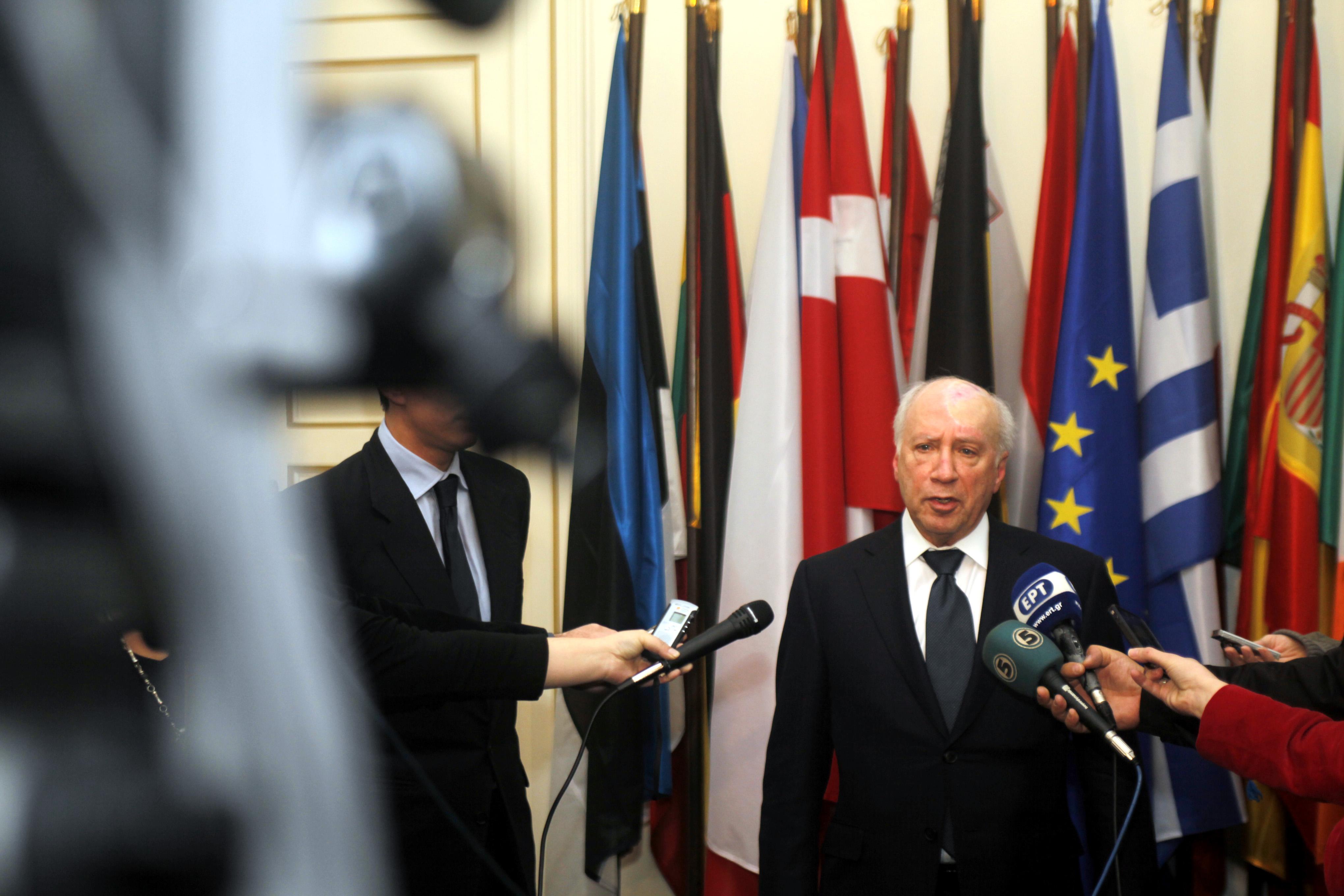 Για τον υπομονετικό διπλωμάτη Nίμιτς, η συγκυρία είναι καλύτερη από ποτέ άλλοτε, αναφέρει το δημοσίευμα (Φωτογραφία: Eurokinissi)