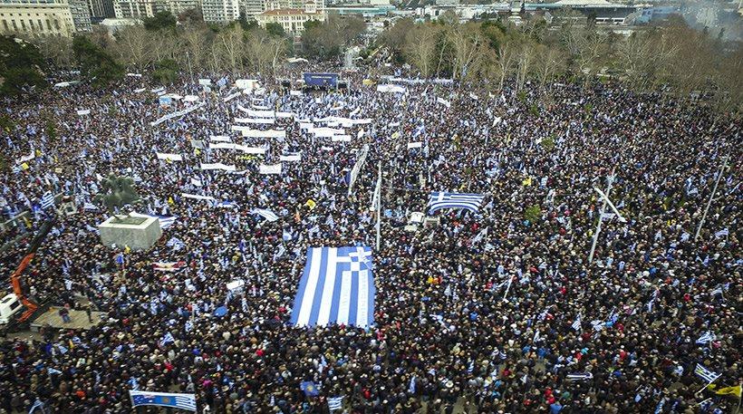 Ξεπέρασε κάθε προσδοκία το συλλαλητήριο για τη Μακεδονία