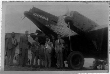 1931: Το αεροπλάνο για Γιάννενα που στάθμευε Αγρίνιο