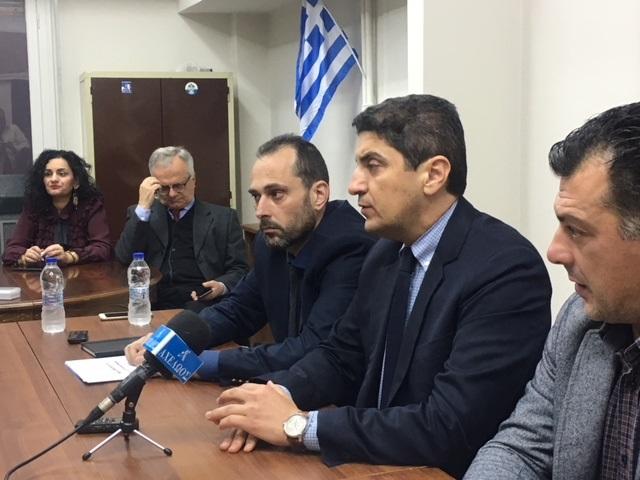 """Αυγενάκης στο Αγρίνιο: επικίνδυνοι οι χειρισμοί της Κυβέρνησης στο """"Σκοπιανό"""""""