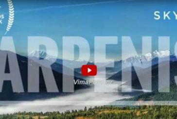 "«Best Aerial Video"" στον κόσμο με πλάνα από το Καρπενήσι με drone"