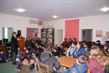 Επίσκεψη μαθητών γυμνασίων στο «Χαμόγελο του Παιδιού» στα Καλύβια