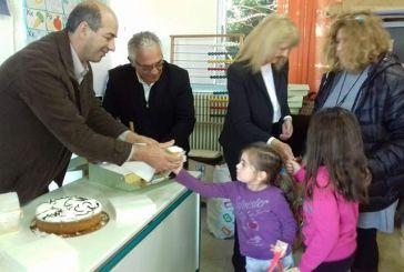 Επίσκεψη εκπροσώπων της δημοτικής αρχής στα σχολεία Παραβόλας και Ζευγαρακίου