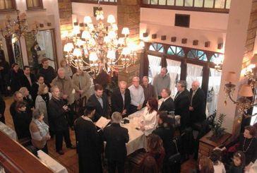 Έκοψε την πρωτοχρονιάτικη πίτα της στο Αγρίνιο η Ιστορική Αρχαιολογική Εταιρεία