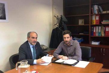 Συνάντηση εργασίας του Περιφερειάρχη με τον Γενικό Γραμματέα Δημόσιων Επενδύσεων ΕΣΠΑ