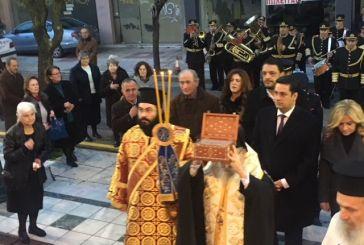 Στο Αγρίνιο το Ιερό Λείψανο του Αγίου Γεωργίου του εξ Ιωαννίνων (φωτό-video)