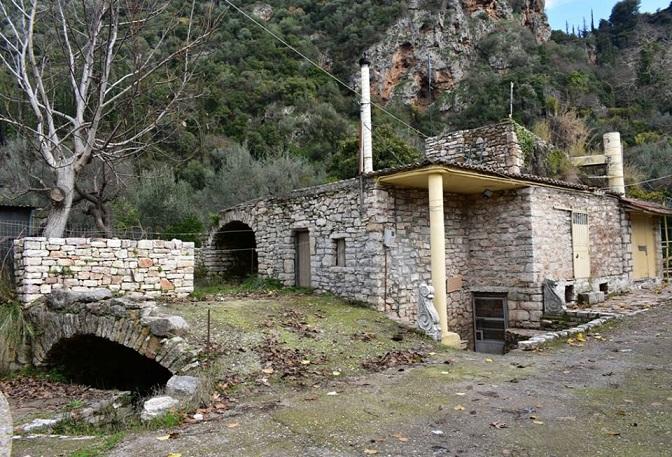 Ο νερόμυλος και η νεροτριβή του Κωνσταντόπουλου, συγκρότημα υδροκίνησης ενεργό σήμερα