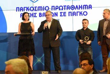 Βραβεύτηκε για το χάλκινο μετάλλιο που κατέκτησε ο Ξηρομερίτης Παραολυμπιονίκης Δημήτρης Μπακοχρήστος (video)