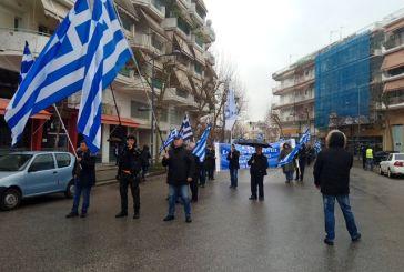 Η πορεία των οπαδών του καταζητούμενου Σώρρα στο Αγρίνιο (φωτό-βίντεο)