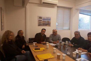 Σύσκεψη στην Περιφέρεια για την εφαρμογή εθνικών και κοινοτικών προγραμμάτων στον πρωτογενή τομέα