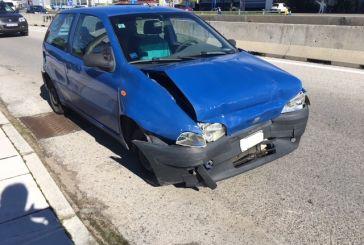 Καραμπόλα έξι οχημάτων, ευτυχώς χωρίς τραυματία, στην εθνική οδό κοντά στο Αγρίνιο