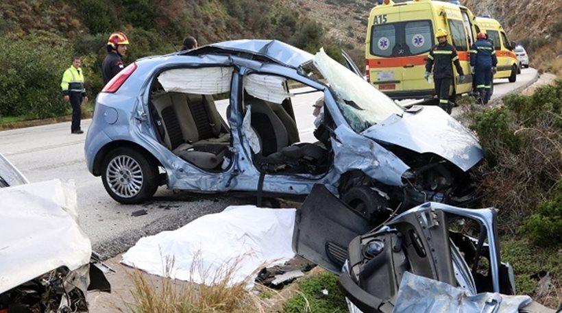 Οι «ματωμένοι» δρόμοι της Κρήτης -Μέσα σε 5 χρόνια 287 άνθρωποι έχασαν τη ζωή τους σε τροχαία