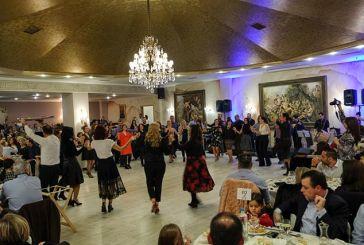 Μεγάλη συμμετοχή και αμείωτο κέφι στο χορό του Λαογραφικού Ομίλου της ΓΕΑ