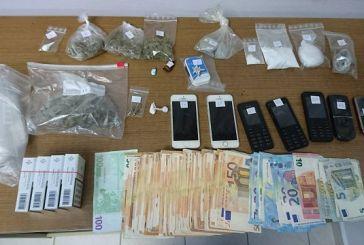 Κοκαΐνη και χασίς σε σπίτι 40χρονου στη Ναύπακτο