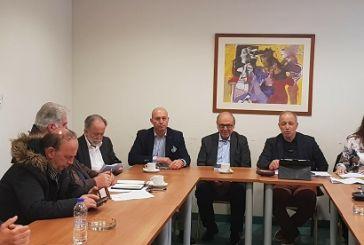 Σε συνάντηση για τα προβλήματα που αντιμετωπίζει ο Κορινθιακός ο δήμαρχος Ναυπακτίας