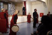 Εικόνες από την «Ηλέκτρα»  στα πλαίσια σεμιναρίου θεάτρου των λειτουργών δευτεροβάθμιας εκπαίδευσης
