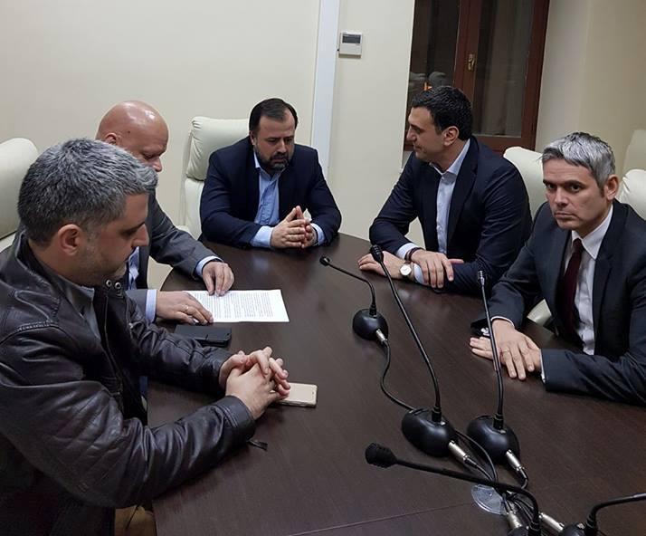 Κατά τη συνάντηση με εκπροσώπους του ΤΕΕ Αιτωλοακαρνανίας