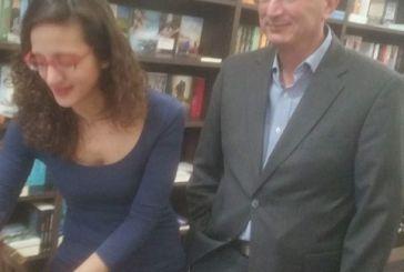 """Παρουσιάστηκε  στο Αγρίνιο  το """"βιβλίο που ταξιδεύει"""" της Ιουλίας Κωστοπούλου"""