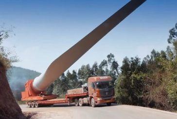 Κυκλοφοριακές ρυθμίσεις από Κεχρινιά έως Σαρδίνια λόγω έργων για την  μεταφορά των ανεμογεννητριών στον Πεταλά