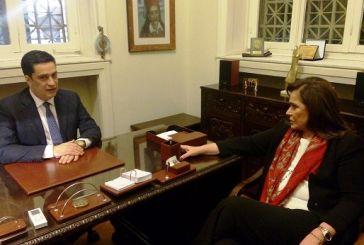 Ενημερώθηκε για τα ζητήματα του δήμου Αγρινίου η Ντόρα Μπακογιάννη (video)