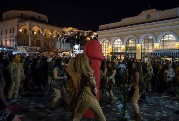 Περιφορά… φαλλού για πέμπτη χρονιά στο κέντρο της Αθήνας από οπαδούς του Διονύσου