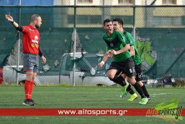 Νίκη για τον Αλικυρναϊκό με 2-0 στο τοπικό ντέρμπι επί του Αστέρα Μεσολογγίου