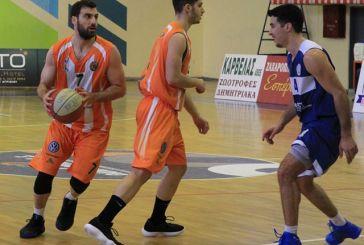 Νέα νίκη για τον ΑΟ Αγρινίου με 67-65 επί των Φαρσάλων