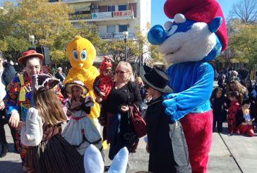 Διαγωνισμός ωραιότερης στολής και παιχνίδια στο «Αποκριάτικο Πανηγύρι» στο Αγρίνιο (video)