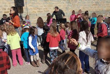 Γιόρτασαν την Τσικνοπέμπτη στο Δημοτικό Σχολείο και Νηπιαγωγείο Δοκιμίου