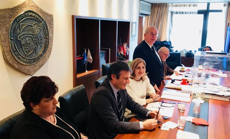 Το νέο Διοικητικό Συμβούλιο της Κεντρικής Ένωσης Επιμελητηρίων  :Πρόεδρος ξανά ο Κ. Μίχαλος-Δεν εξελέγη ο Π.Τσιχριτζής