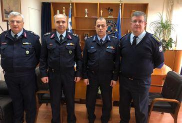 Συνάντηση του Περιφερειακού Διοικητή της Πυροσβεστικής με τον Αστυνομικό Διευθυντή Δυτικής Ελλάδας