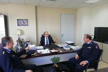 Συνάντηση του Απ. Κατσιφάρα με τους Περιφερειακούς Διοικητές της Πυροσβεστικής