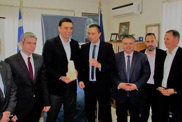 """Β. Κικίλιας: «Η ανάπτυξη στο Μεσολόγγι θα έρθει από τη θάλασσα και τον πρωτογενή τομέα"""" (video)"""