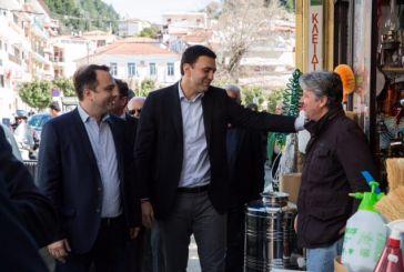 Η Ναύπακτος τελευταίος σταθμός της επίσκεψης Κικίλια στην Αιτωλοακαρνανία