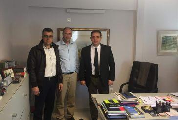 Συνάντηση Δ. Κωνσταντόπουλου με εκπροσώπους της Ένωσης Στρατιωτικών Π.Ε. Αιτωλοακαρνανίας