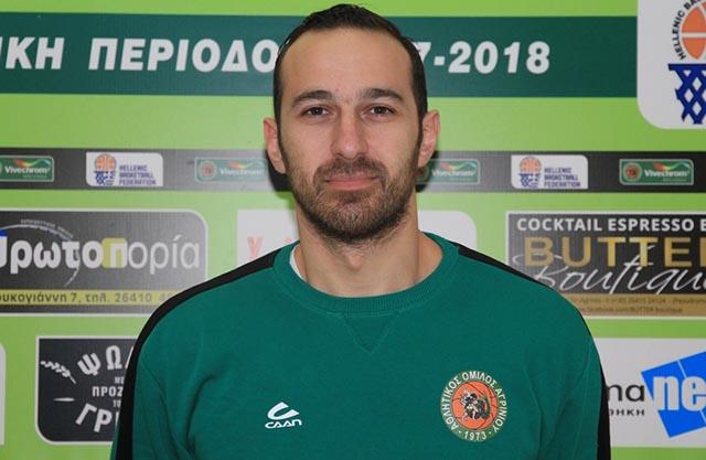 """Νίκος Τάγκας (Α.Ο. Αγρινίου): """"Κρίσιμο το ματς με Ερμή Λαγκαδά"""""""