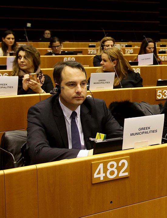 """Θανάσης Παπαθανάσης στις Βρυξέλλες: """"Η Συνοχή της Ευρώπης περνά μέσα από την Αυτοδιοίκηση"""""""