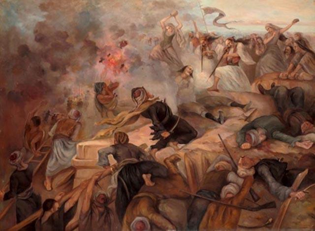 Πίνακας πρώτης πολιορκίας