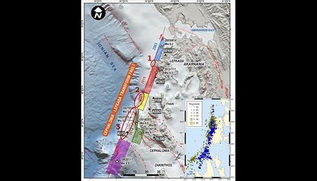 Ελληνες επιστήμονες κατάφεραν να εντοπίσουν με τη βοήθεια δορυφορικών ραντάρ τις περιοχές που είναι πιθανόν να παραγάγουν σεισμούς στο μέλλον μεγέθους από 5,5 έως 6,5 ρίχτερ