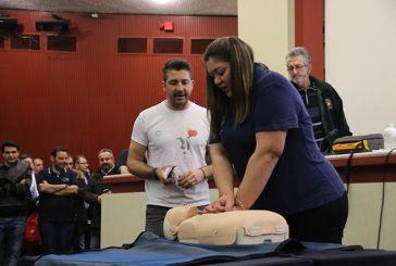 800 πολίτες και 70 εκπαιδευτές στο μεγαλύτερο σεμινάριο Καρδιοπνευμονικής Αναζωογόνησης στην Ελλάδα
