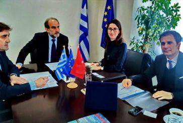 Συνάντηση του Περιφερειάρχη με τη Γενική Πρόξενο της Τουρκίας
