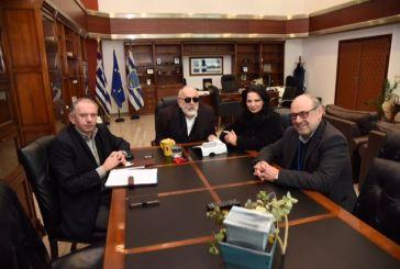 Συνάντηση Κουρουμπλή με τον δήμαρχο Ναυπακτίας