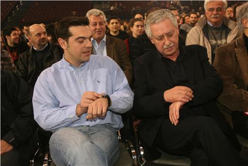 Επειτα από χρόνια Αλ. Τσίπρας και Φ. Κουβέλης συγχρόνισαν το ρολόι τους και βρέθηκαν στην ίδια κυβέρνηση(Φωτογραφία: Eurokinissi)