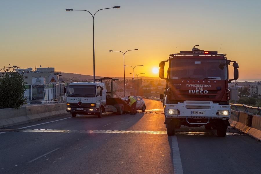 Θανατηφόρο τροχαίο με θύμα 44χρονο Ελλαδίτη, σημειώθηκε τα ξημερώματα στη Λεμεσό