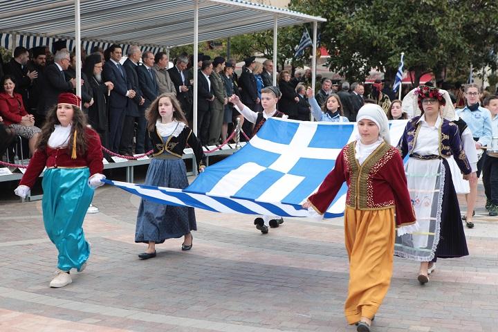 Με καλό καιρό ο εορτασμός της 25ης Μαρτίου στην Αιτωλοακαρνανία