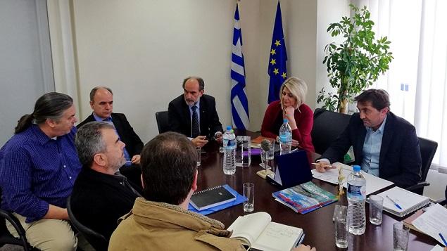 2018.03.01 @ Σύσκεψη υπο το Περιφερειάρχη Δυτικής Ελλάδας, Απόστολο Κατσιφάρα, για την οργανωτική προετοιμασία της συνεδρίασης του Πολιτικού Γραφείου της CPMR, που θα φιλοξενηθεί από την Περιφέρεια Δυτικής Ελλάδας, στην Πάτρα, στις 7-8 Μαρτίου 2018.