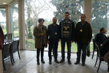 Επιτυχία για τη σκακιστική ομάδα της Γυμναστικής Εταιρείας Αγρινίου