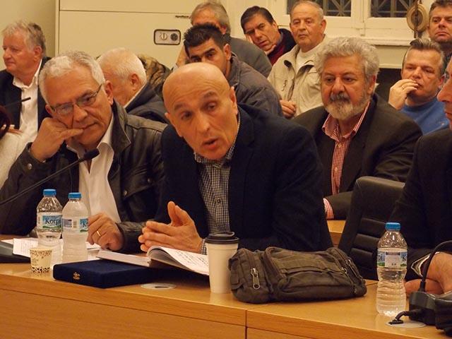 Ο απολογισμός του απερχόμενου πρόεδρου της Σχολικής Επιτροπής Π. Ε. Δήμου Αγρινίου Σπύρου Αδάμη