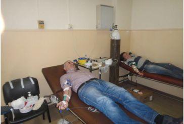 Ικανοποιητική συμμετοχή στην εθελοντική αιμοδοσία του Πολιτιστικού Κέντρου Αμφιλοχίας